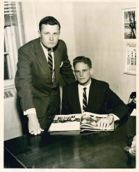 Willis Connell (left) and Ed Connell (right) pose for a picture for the Daily Mississippian.