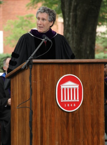 Image of Dean Gershon at Graduation