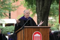 Image of Gov. Winter at Graduation
